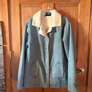 Roper Denim Fleece lined Coat